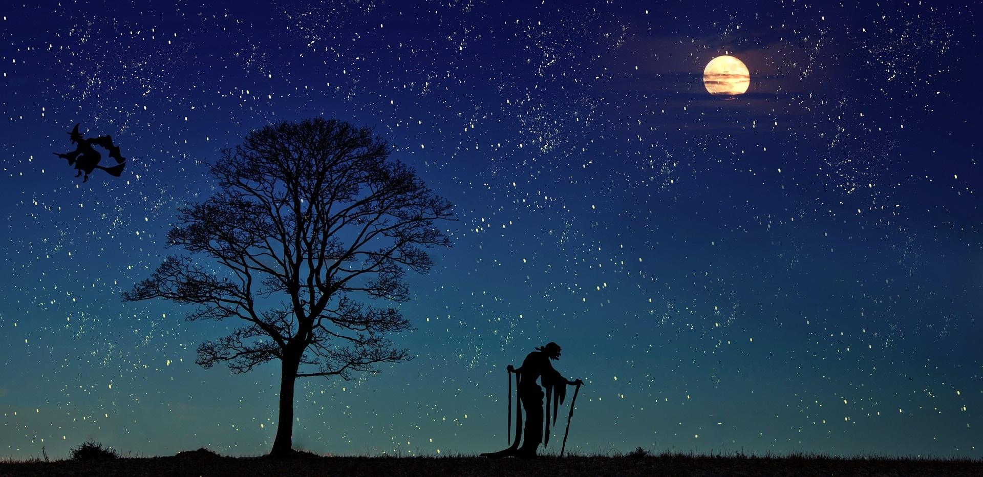 La notte di Diana, strega e befana dell'epifania